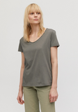 ARMEDANGELS Haadia t-shirt Dyed By Nature khaki