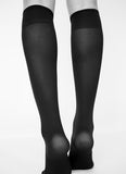 Swedish Stockings Irma Support Knee-Highs Black