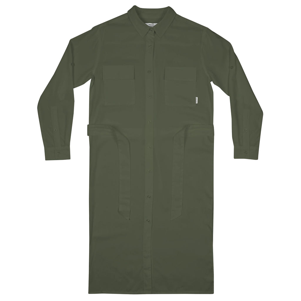 Dedicated Trondheim dress Leaf green