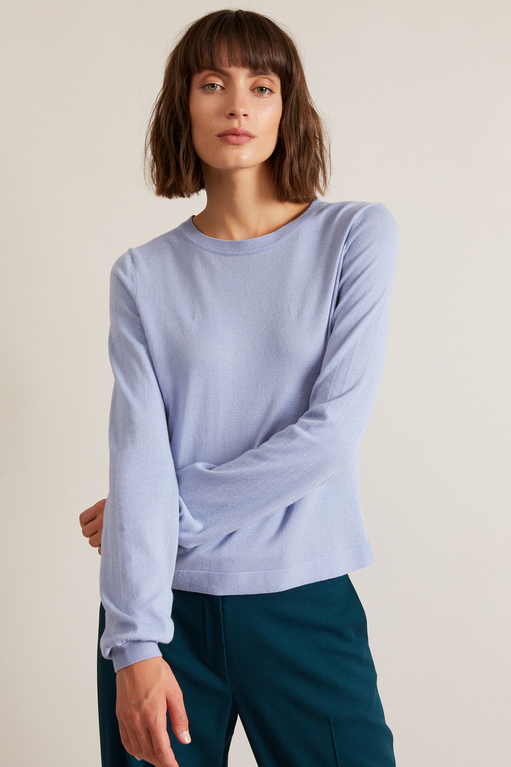 LANIUS balloon sleeves jumper light lavendel