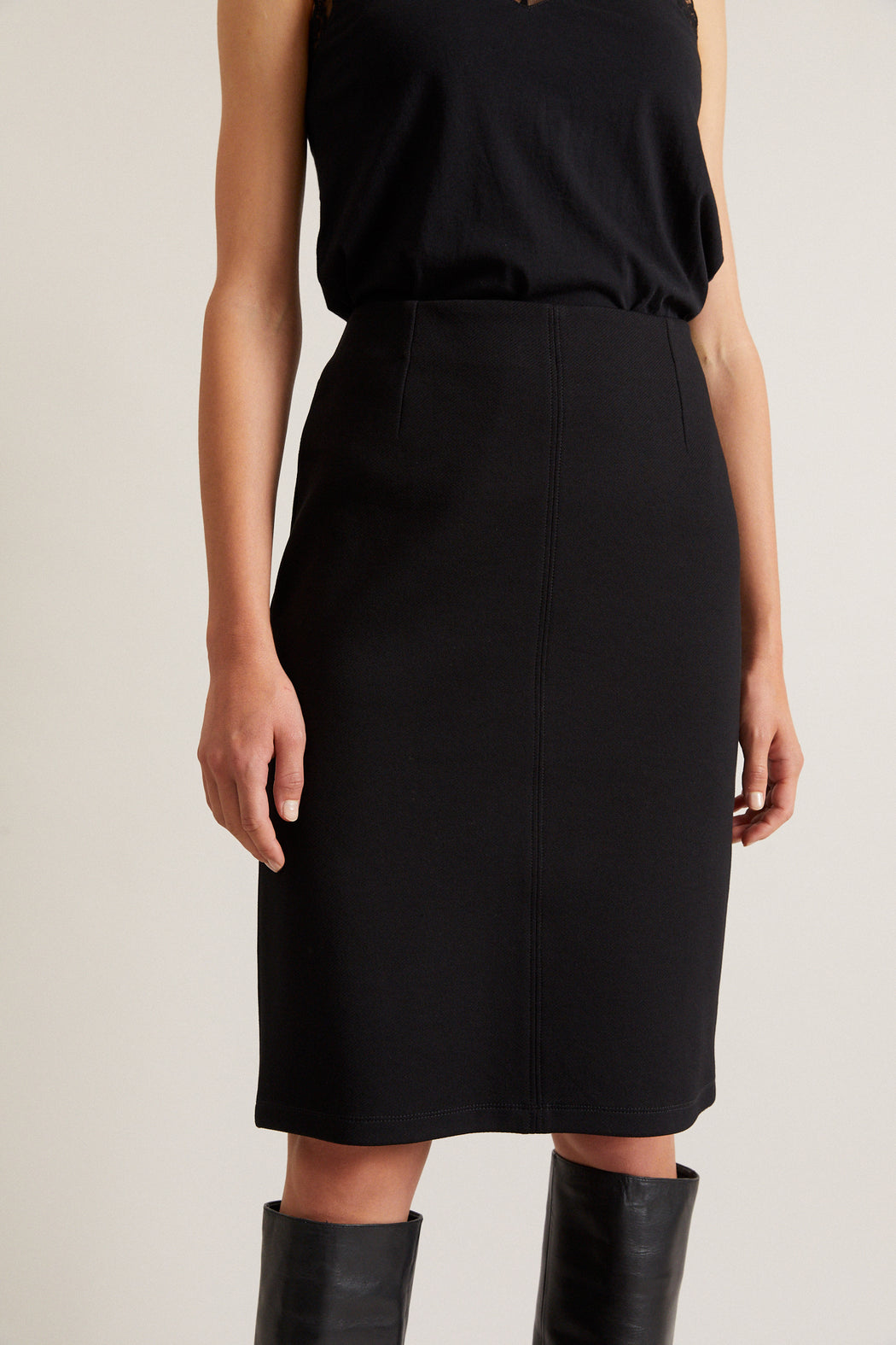LANIUS pencil skirt black