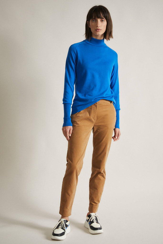 LANIUS Turtleneck jumper electric blue 11953