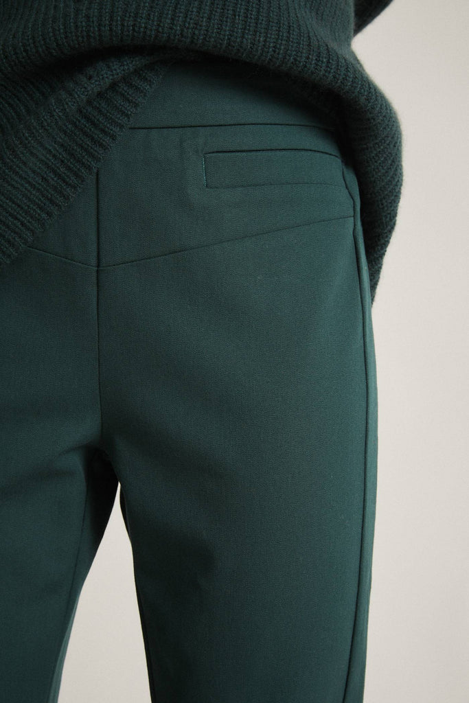 LANIUS Slim fit trousers forest 12258
