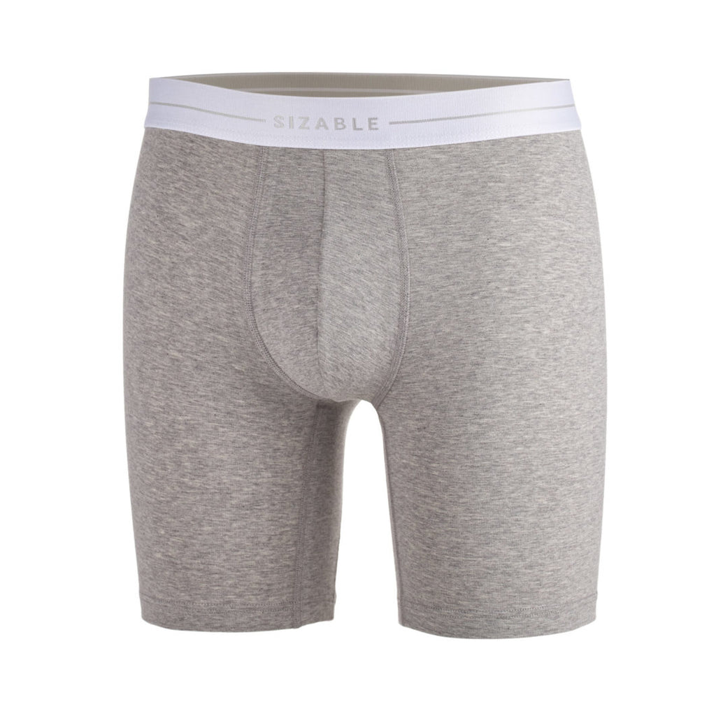 SIZABLE Long Leg Boxer Grey