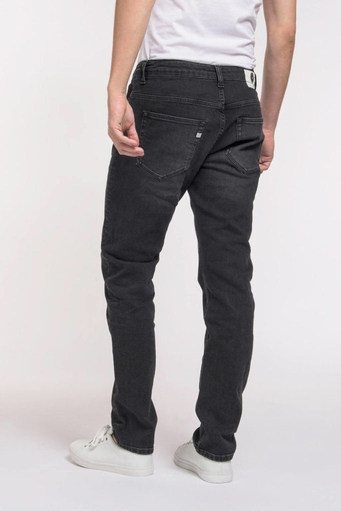 MUD JEANS Regular Dunn Stone Black