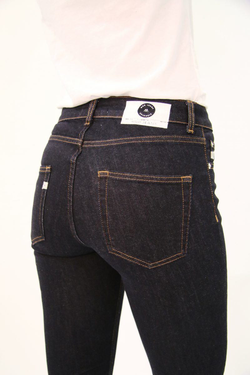 MUD JEANS Regular Swan Strong Blue