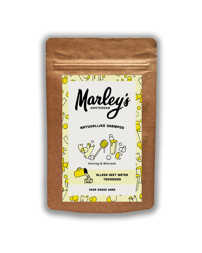 MARLEY'S AMSTERDAM SHAMPOO FLAKES Honey and Incense - dry hair