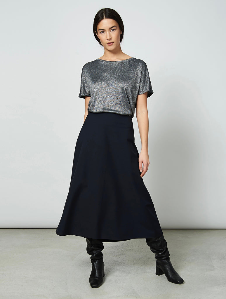 JAN 'N JUNE Nolita top Silvery black