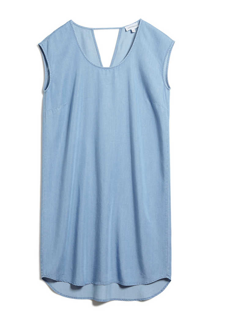 ARMEDANGELS Reginaa dress light denim blue