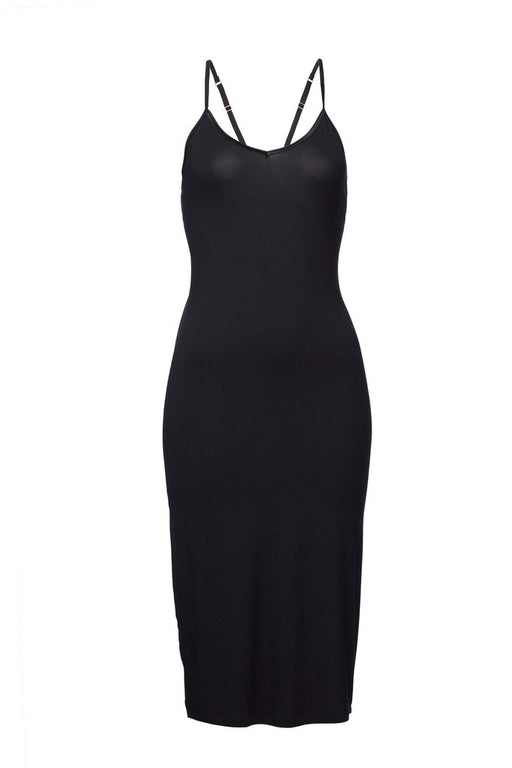 WORON Slip Dress Black