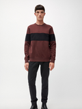 ARMEDANGELS Finnaa sweater bordeaux black