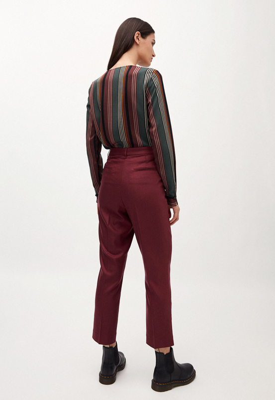 ARMEDANGELS Herttaa Trousers Port Wine
