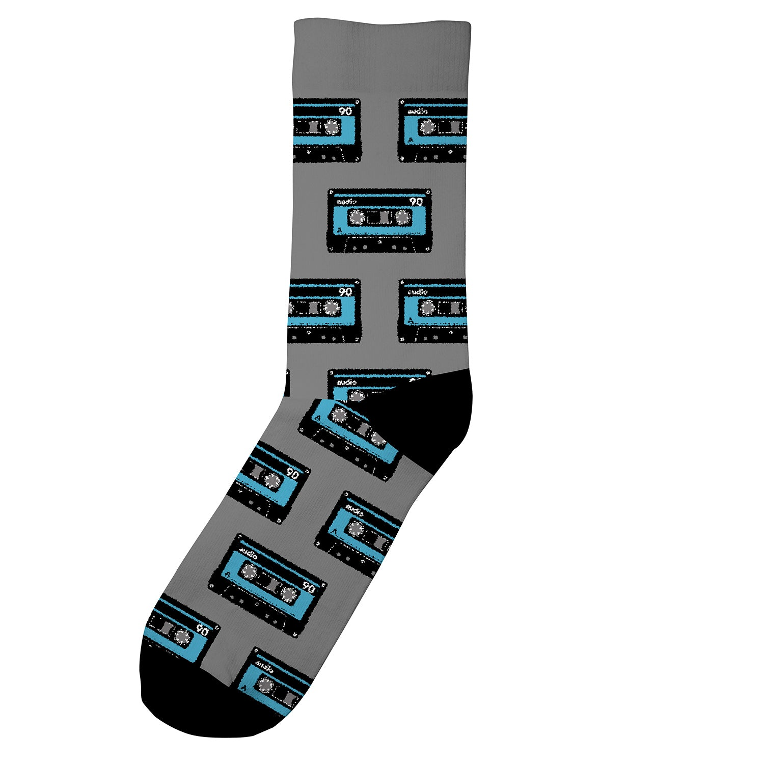 DEDICATED Socks Sigtuna Tapes Grey