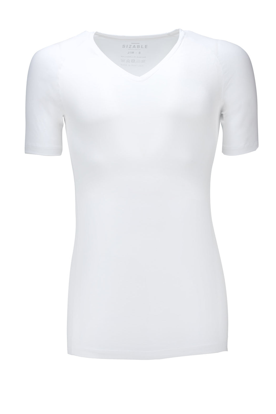 SIZABLE Jim Slim fit V-neck undershirt white