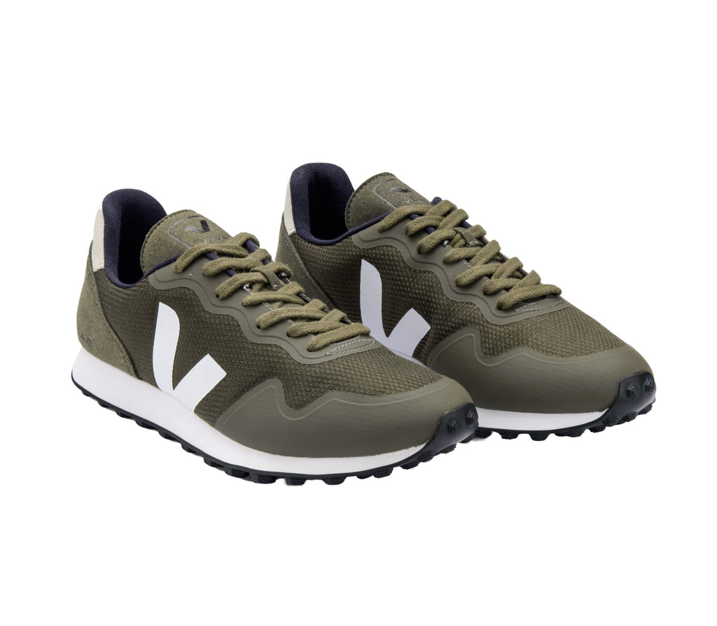 VEJA SDU Mesh Olive White Natural Men