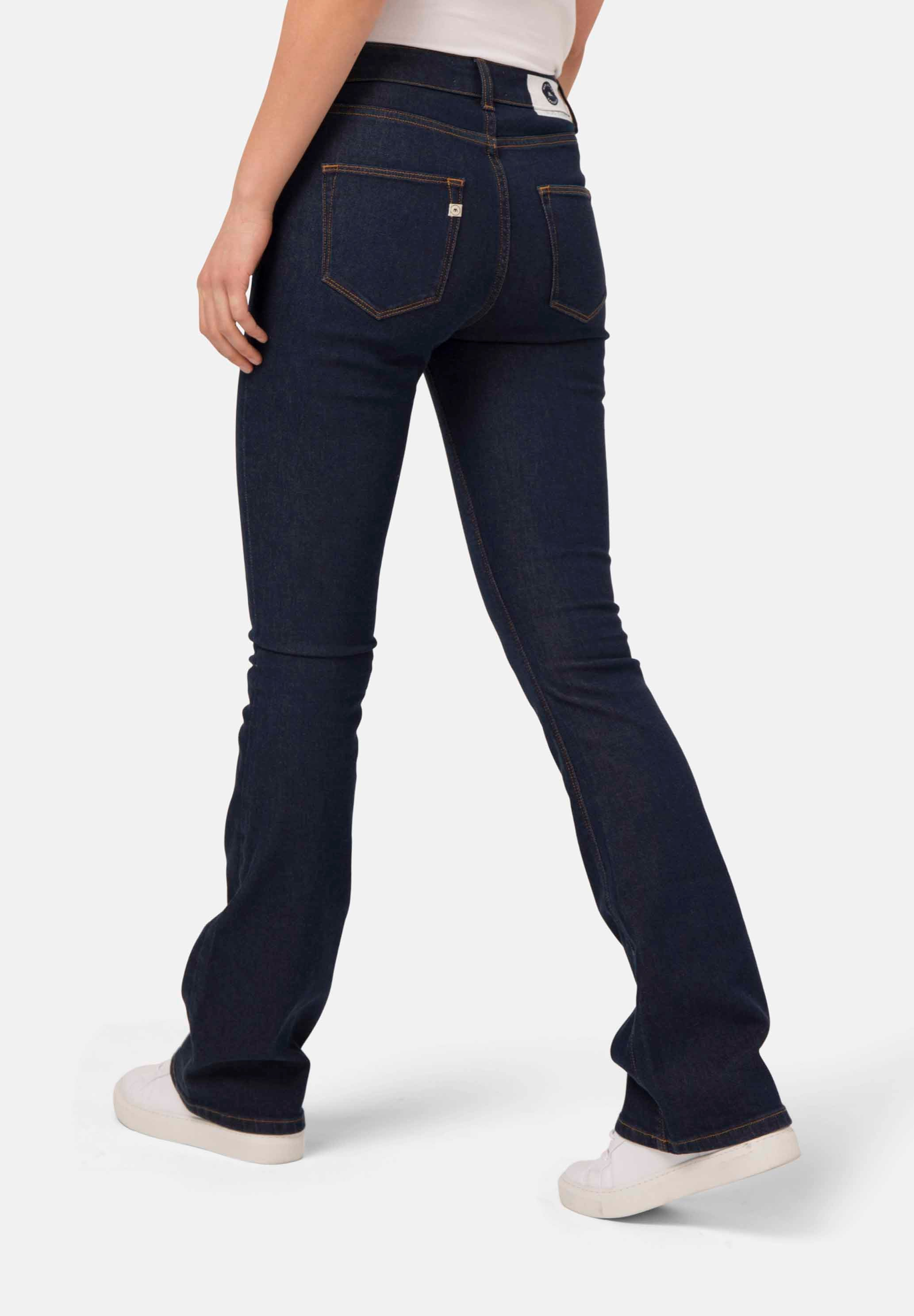 MUD JEANS Flared Hazen Strong Blue