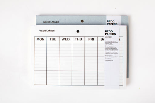 REDOPAPERS Weekly Planner