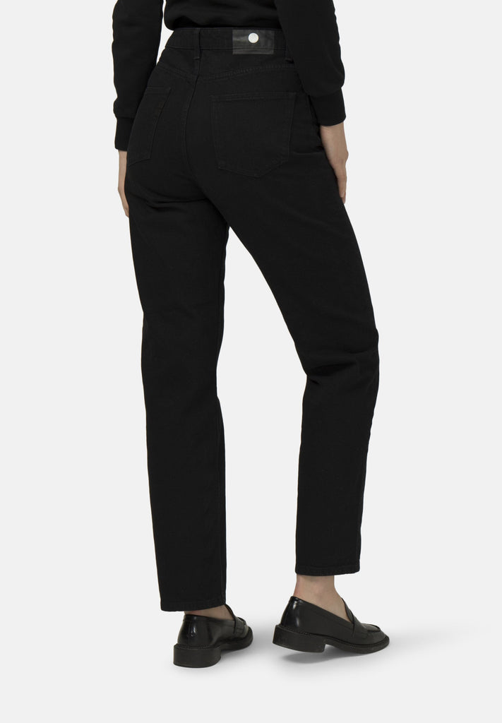 MUD JEANS Relax Rosy Black Dip