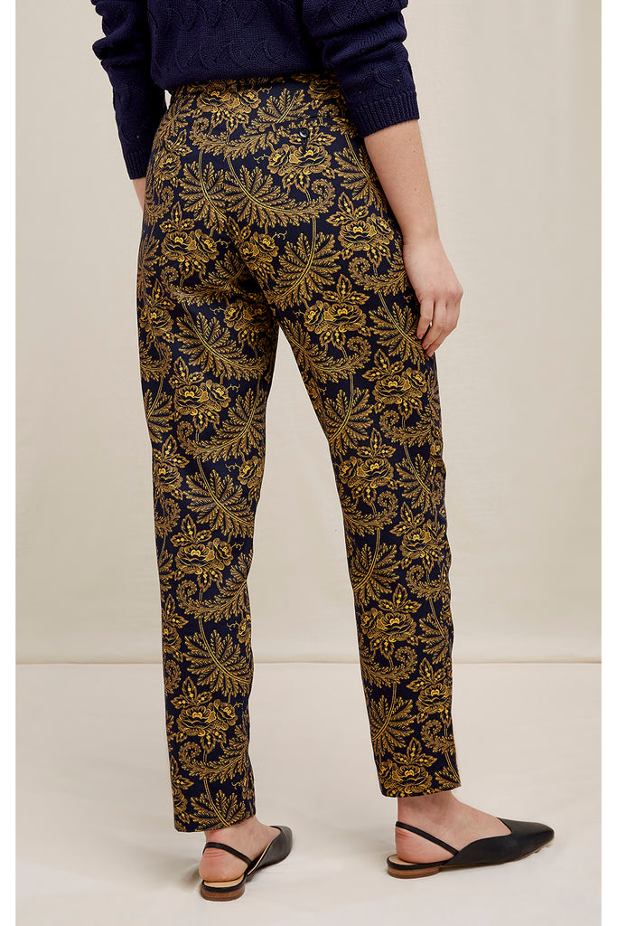 PEOPLE TREE V&A Rosa print trousers Y321UA