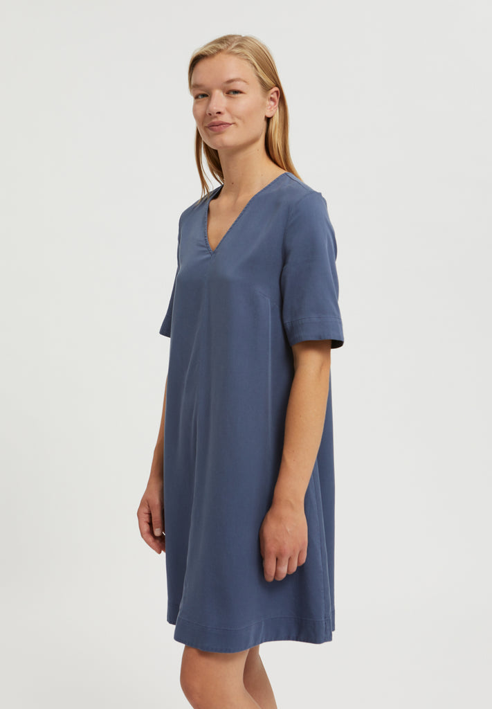 ARMEDANGELS Aamaya dress foggy blue