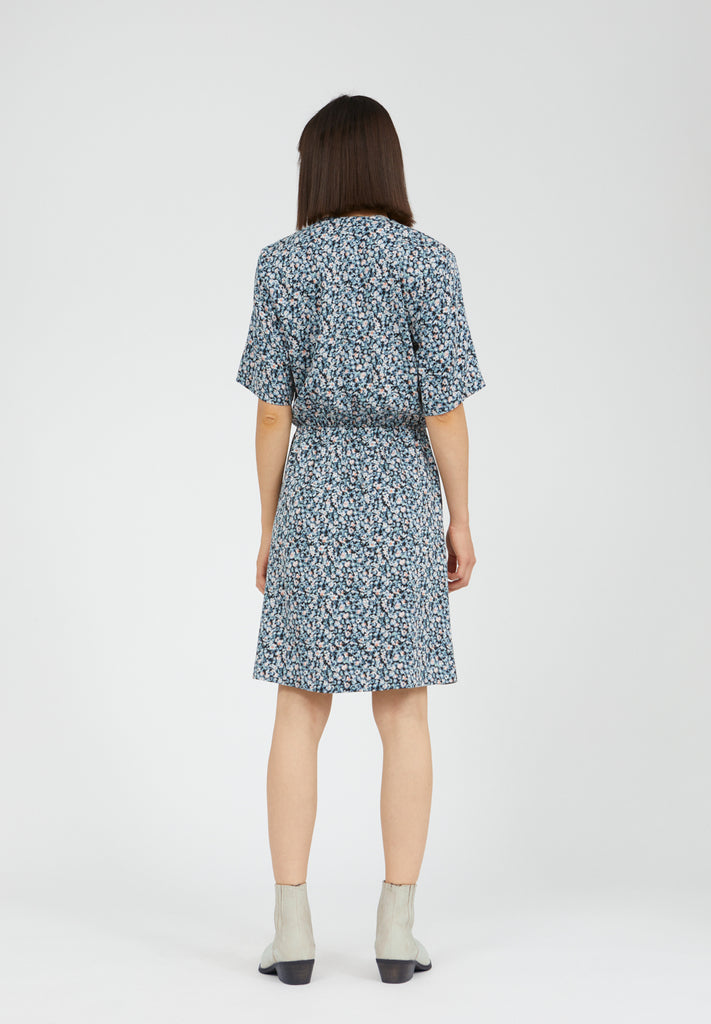 ARMEDANGELS Airaa dress Primrose foggy blue