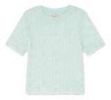 THINKING MU Mara top aqua