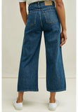 PEOPLE TREE Ariel Wide Leg jeans W296UX.BL1