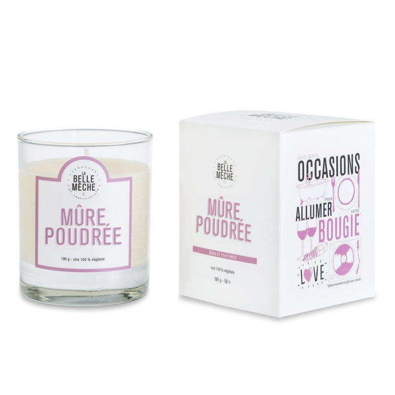 LA BELLE MECHE Blackberry Musk Scented candle
