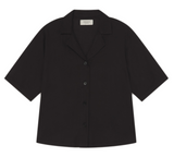 THINKING MU Black Lomami blouse Women