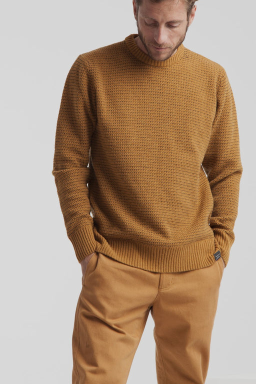 THINKING MU Brown Sugar Miki Sweater