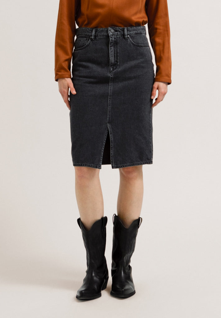 ARMEDANGELS Callaa Skirt grey wash