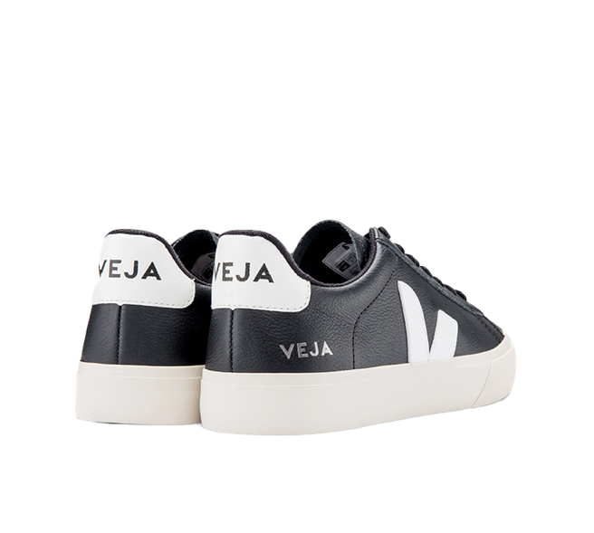VEJA Campo Easy Black White Men