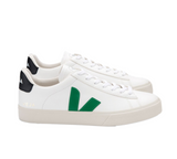 VEJA Campo Chromefree white emeraude black Men