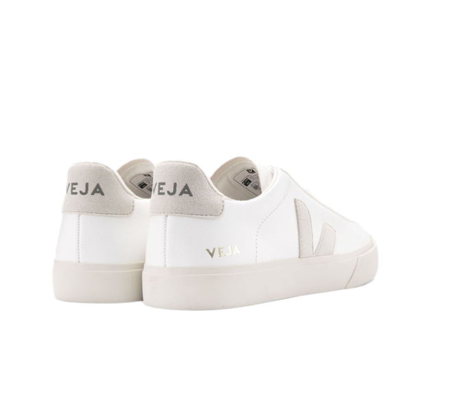 VEJA Campo White Natural suede women