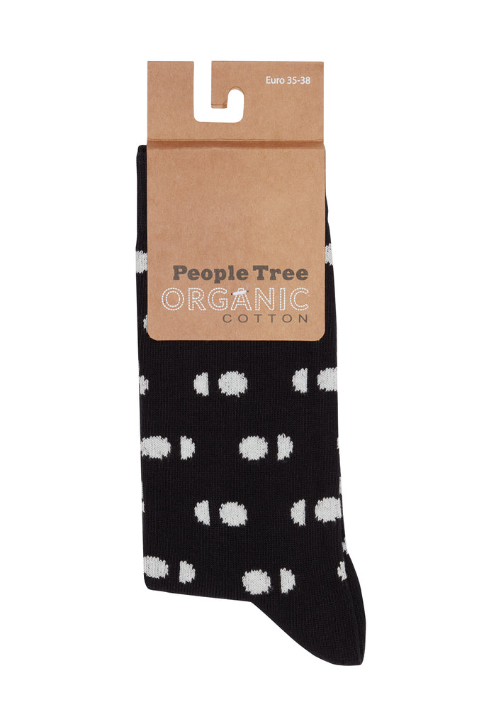 PEOPLE TREE Cat Patterned Socks Set Of 3