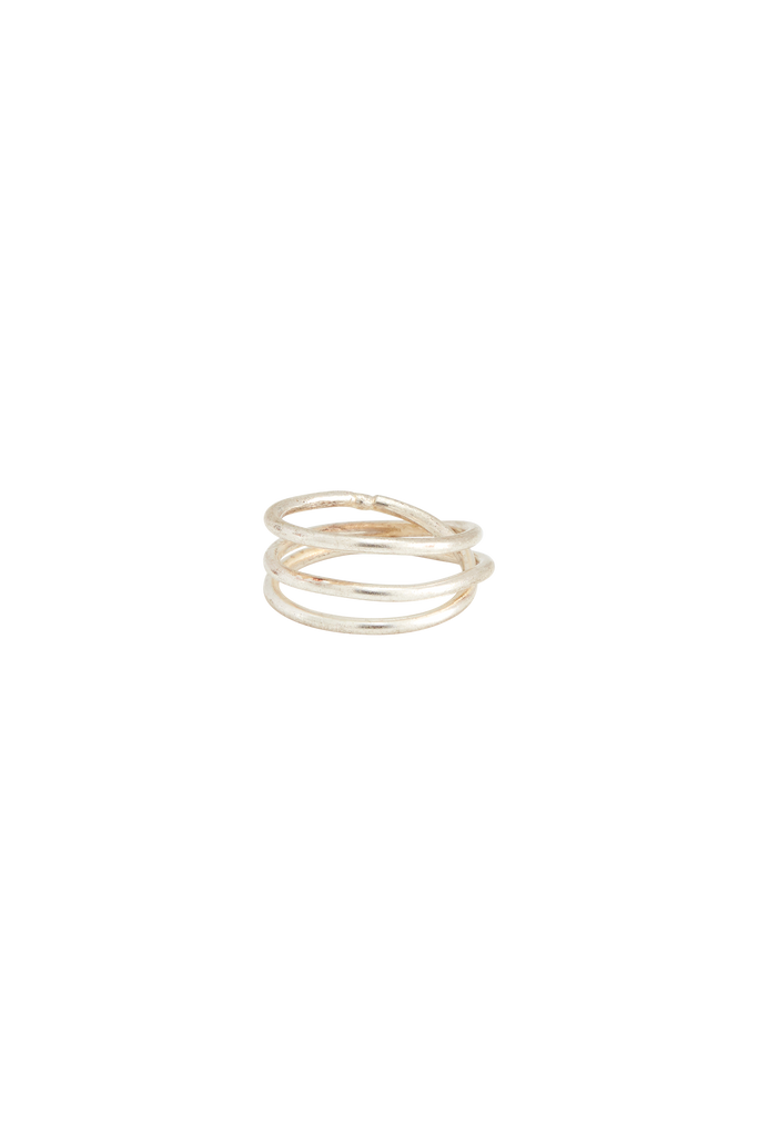 PEOPLE TREE Coil Ring Silver