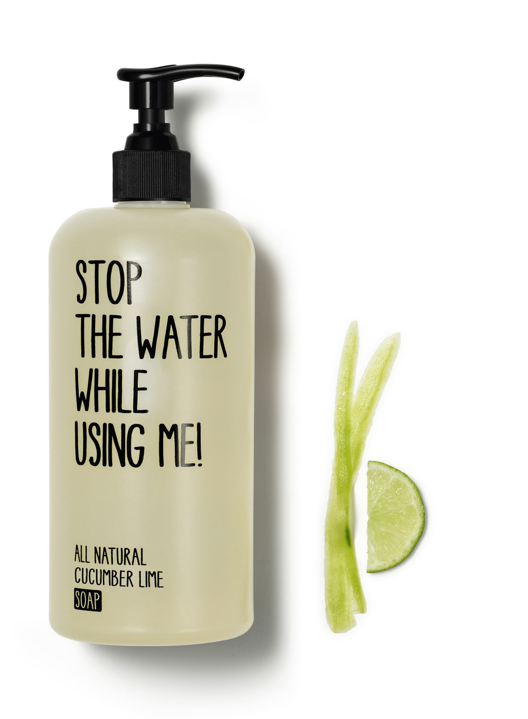 200ml Cucumber Lime soap STW
