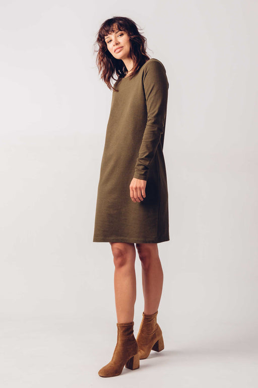 SKFK Eitzaga Dress Olive