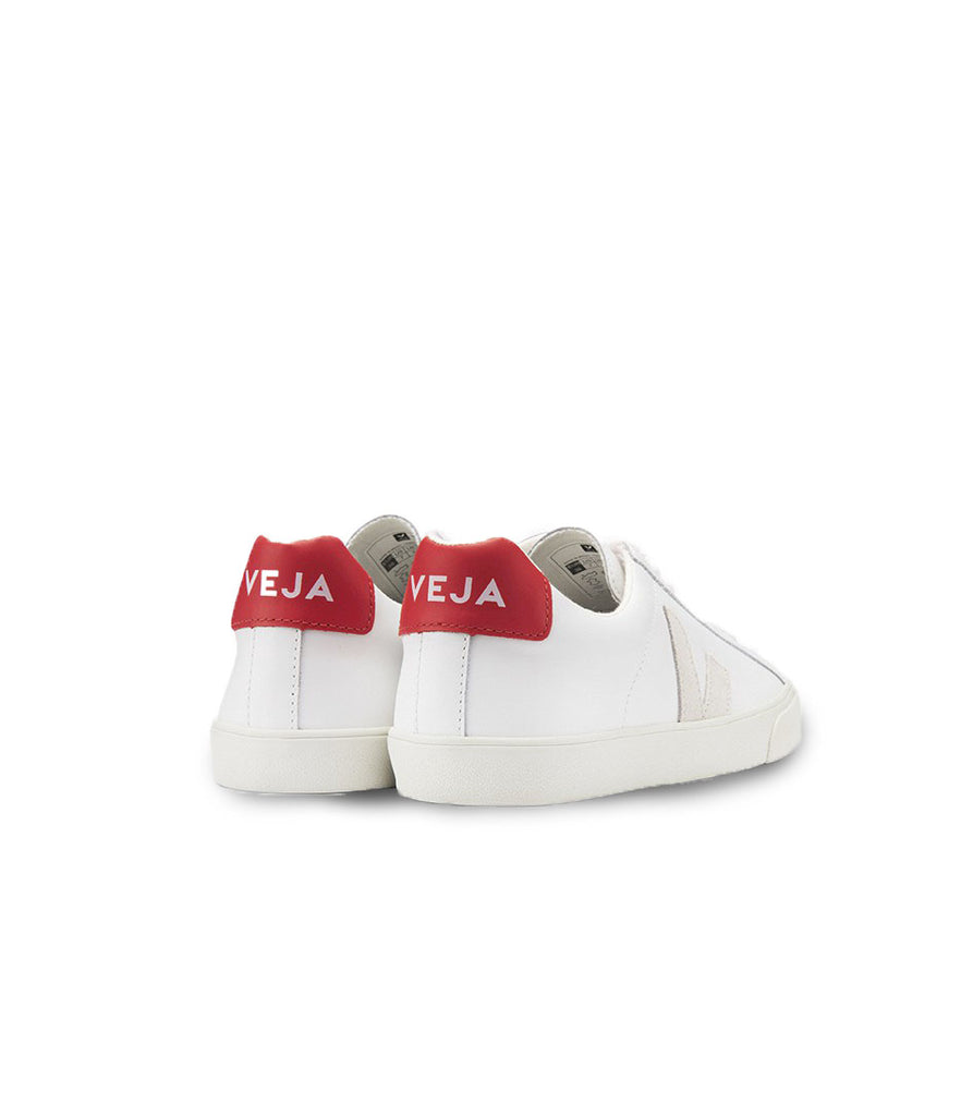VEJA Esplar Leather White Natural Pekin Women