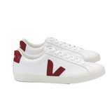 VEJA Esplar Leather Extra White Marsala Women