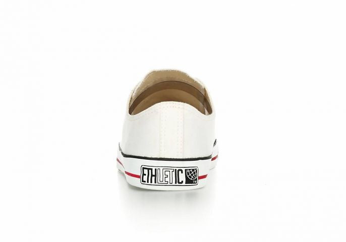 ETHLETIC White cap low cut just white & just white women