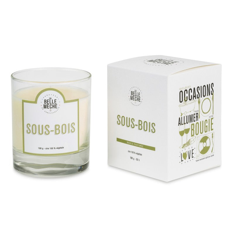 LA BELLE MECHE Forest Floor Scented candle