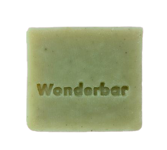 Wonderbar Mint & Green Clay Soap