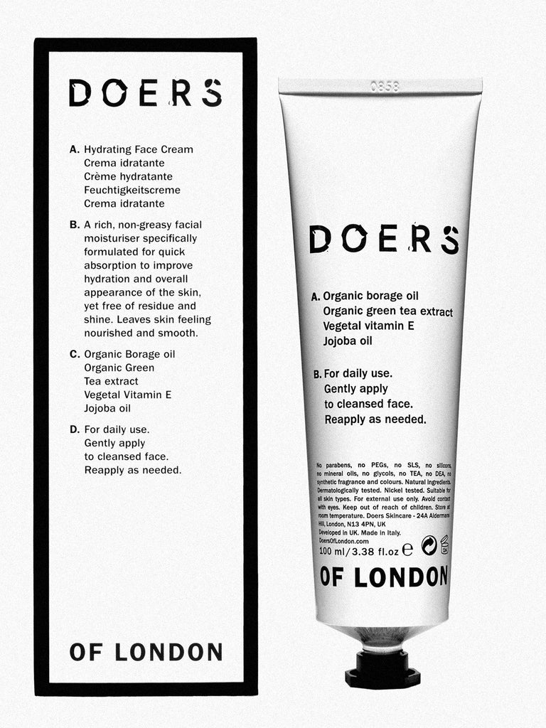 DOERS OF LONDON Hydrating Face Cream