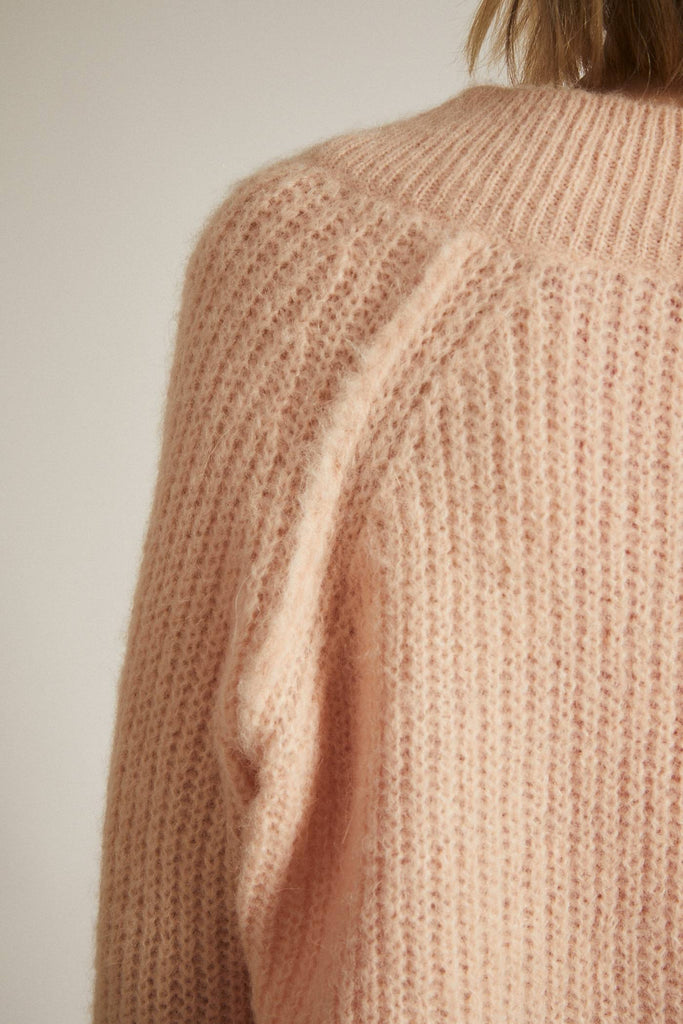 LANIUS V-neck pullover 12312 peach