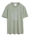 ARMEDANGELS Jaames Sailor Face T-shirt green tea