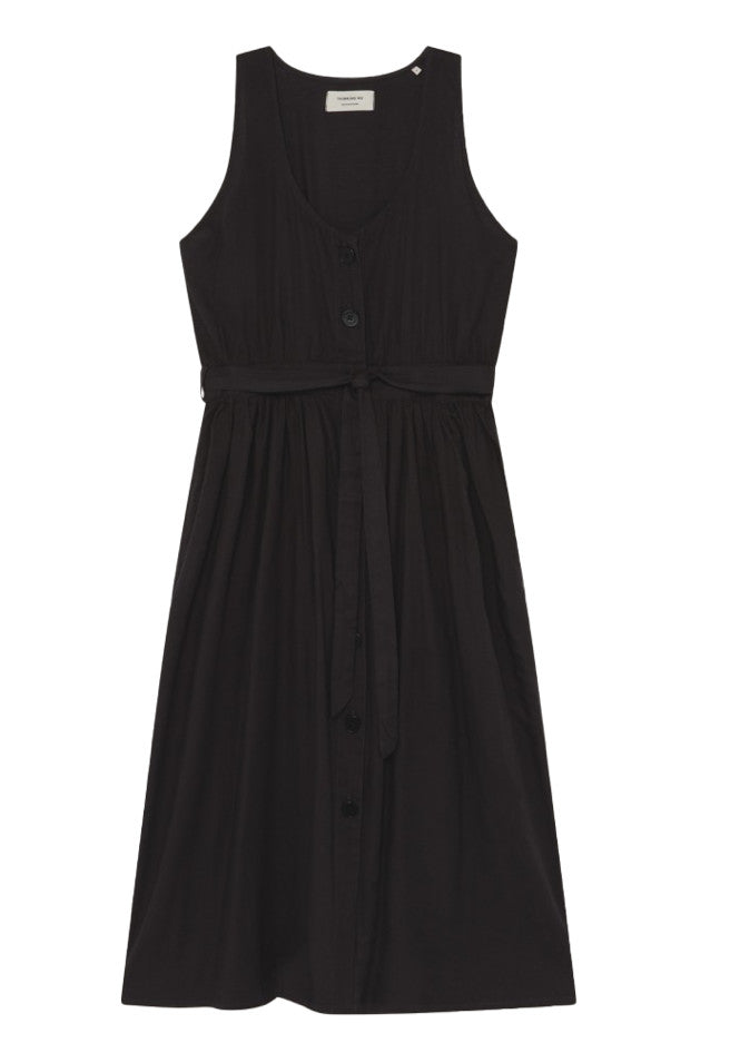 THINKING MU Jolie dress black