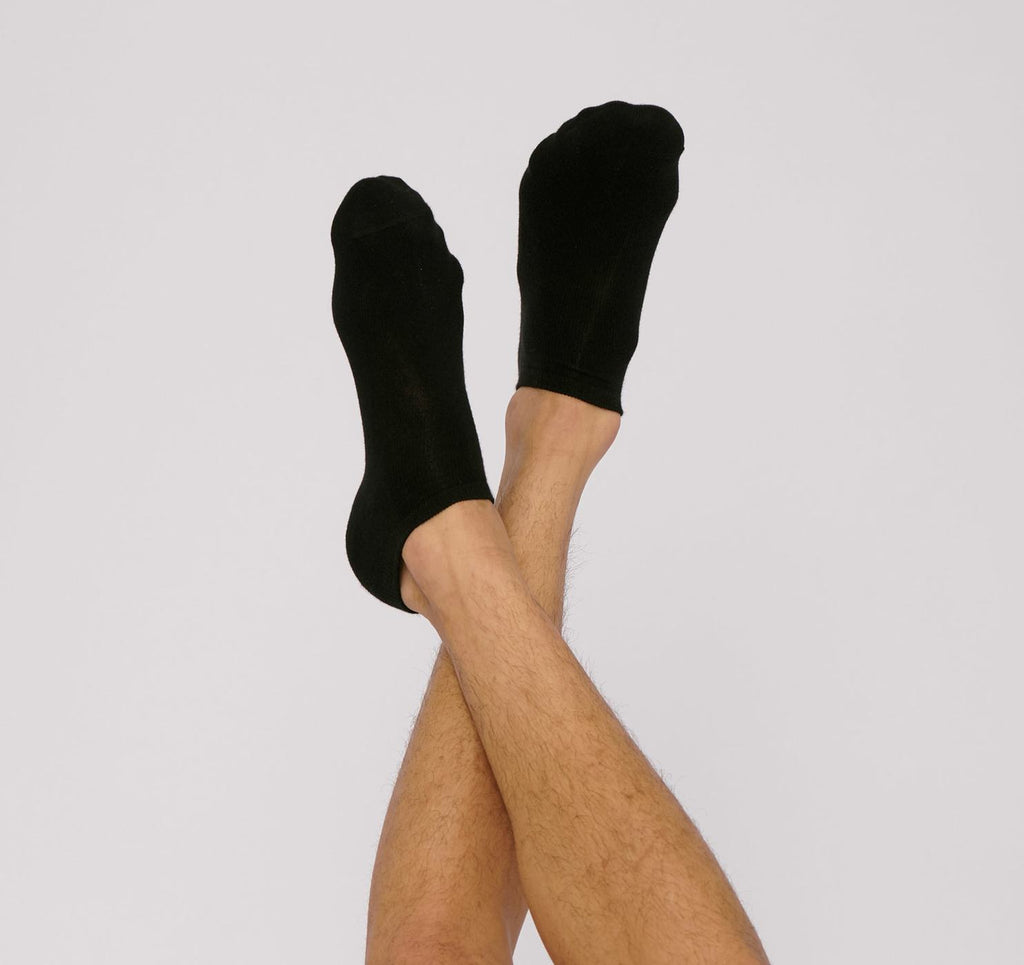 Organic Basics Organic Cotton Ankle socks 2-Pack Black