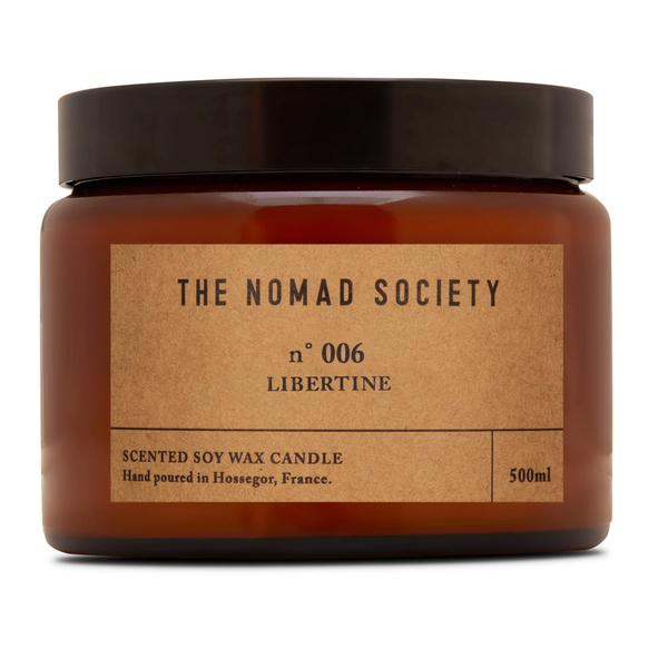THE NOMAD SOCIETY Soy Wax Candle Libertine 500ml