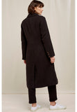 PEOPLE TREE Lynne coat black multicolour Y057UA.BKX
